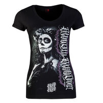 Blood In Blood Out Catrina Woman T-shirt