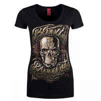 Blood In Blood Out Infernal Woman T-shirt Black