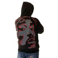 Bsat Tupac Art Mikina Čierna