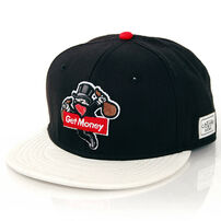 Cayler & Sons Get Money Black Red Snake Snapback