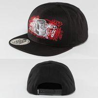 Dangerous DNGRS Skinny Snapback Cap Black/Red
