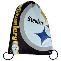 Forever Collectibles NFL Cropped Logo Gym Bag Steelers