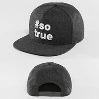 Šiltovka Just Rhyse Being True  Snapback Cap Anthracite