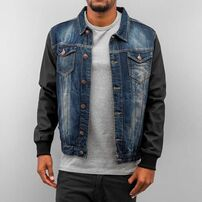 Just Rhyse Jeans Jacket Blue