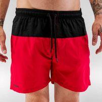 Just Rhyse Swim Shorts Black/Red