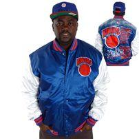 Mitchell & Ness NBA Sublimated Jacket NY Knicks Royal MN-NBA-6158-NYKNIC