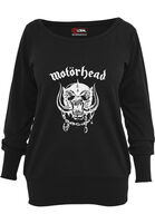 Mr. Tee Ladies Motörhead Everything Louder Wideneck Crewneck black