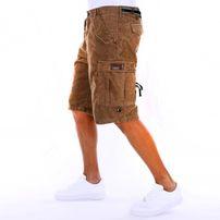 Pelle Pelle Corduroy Cargo Shorts Beige