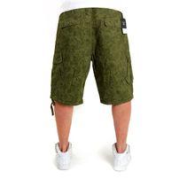 Pelle Pelle Paisley Cargo Shorts Bright Camo