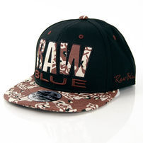 Raw Blue Raw Camo Snapback Black Desert