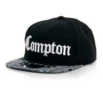 Thug Life Compton Paisley Cap Black