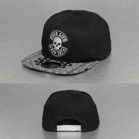 Thug Life Paisley Snapback Cap Black