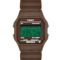 Timex 80 Classic Watch Solid Brown Smuggle