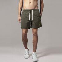 Urban Classics Block Swim Shorts olive/olive