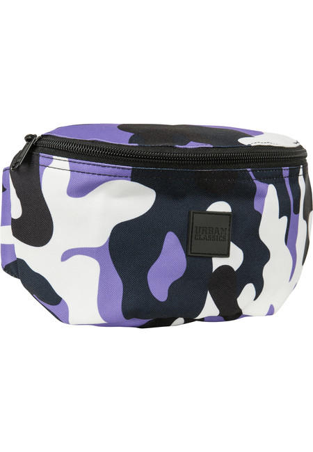 Urban Classics Camo Hip Bag ultraviolet camo