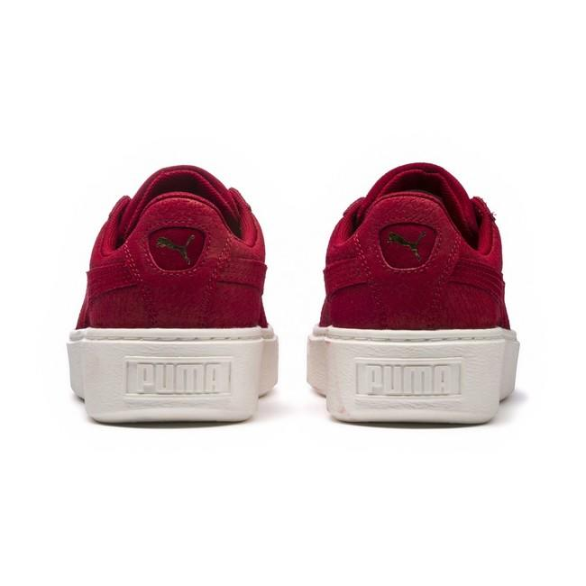 ... Dámské Tenisky Puma Platform Euphoria Wn Red Dahlia Red 36547202 ... d1294d4bedc