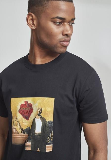 Mr. Tee Tupac Sacred Heart Tee black