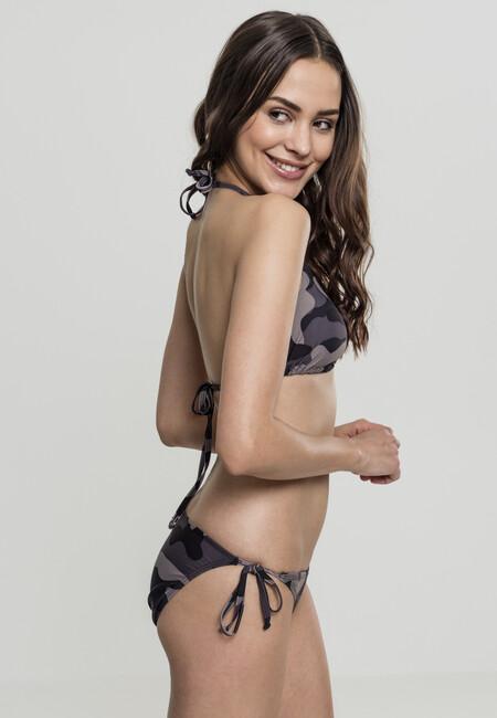 Urban Classics Ladies Camo Bikini dark camo