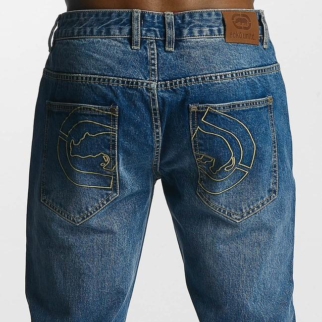 76788c3e605e4 Ecko Unltd. / Loose Fit Jeans ECKOJS1021 in blue - Gangstagroup.sk ...