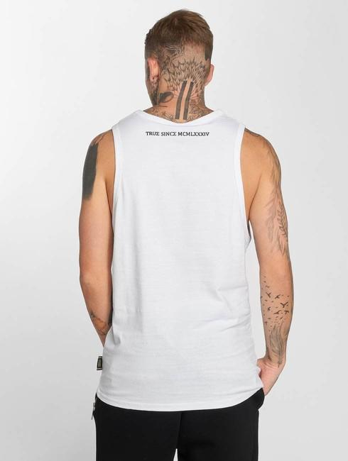 deus maximus tank tops donatello in white online hip hop fashion store. Black Bedroom Furniture Sets. Home Design Ideas