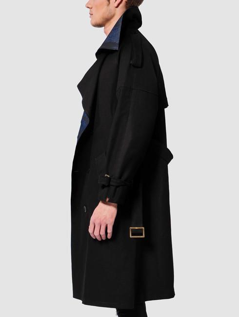 De Ferro / Coats Word Long in black
