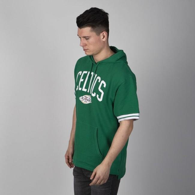 Mitchell & Ness sweatshirt French Terry Hooded green Boston Celtics