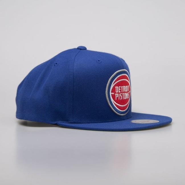 Mitchell & Ness cap snapback Detroit Pistons royal Wool Solid Snapback