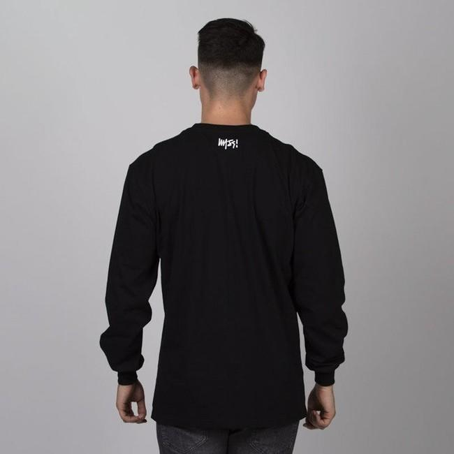 Mass Denim Signature Medium Logo Longsleeve black