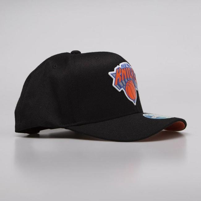 Mitchell & Ness snapback New York Knicks black Chrome Logo Snapback