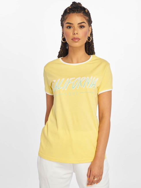 Just Rhyse / T-Shirt Santa Monica in yellow