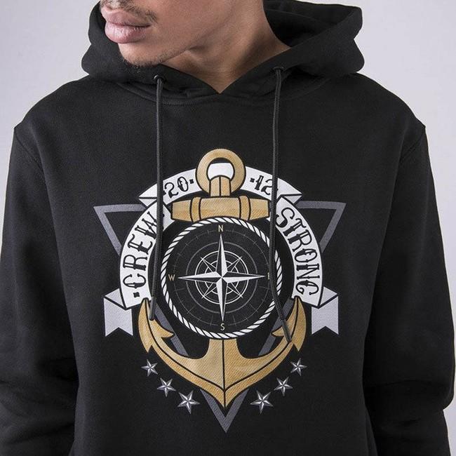 Cayler & Sons WHITE LABEL Sweatshirt WL Crew Strong Hoody black / mc