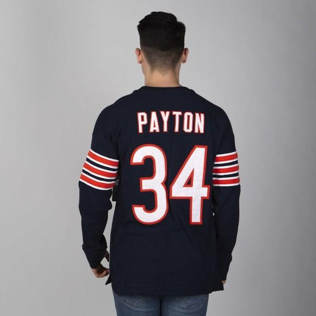 Mitchell & Ness longsleeve Chicago Bears navy Name & Number LS