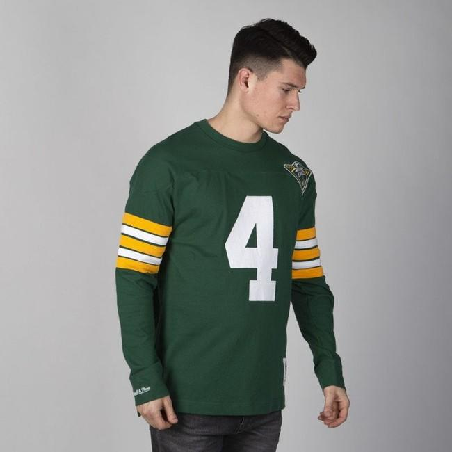 Mitchell & Ness longsleeve Green Bay Packers green Name & Number LS