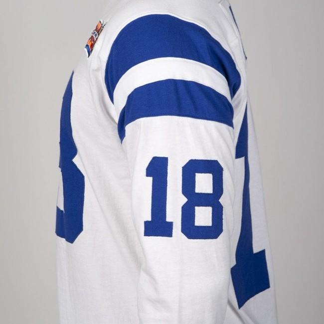Mitchell & Ness longsleeve Indianapolis Colts white Name & Number LS