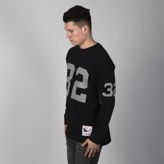 Mitchell & Ness longsleeve Los Angeles Raiders black Name & Number LS