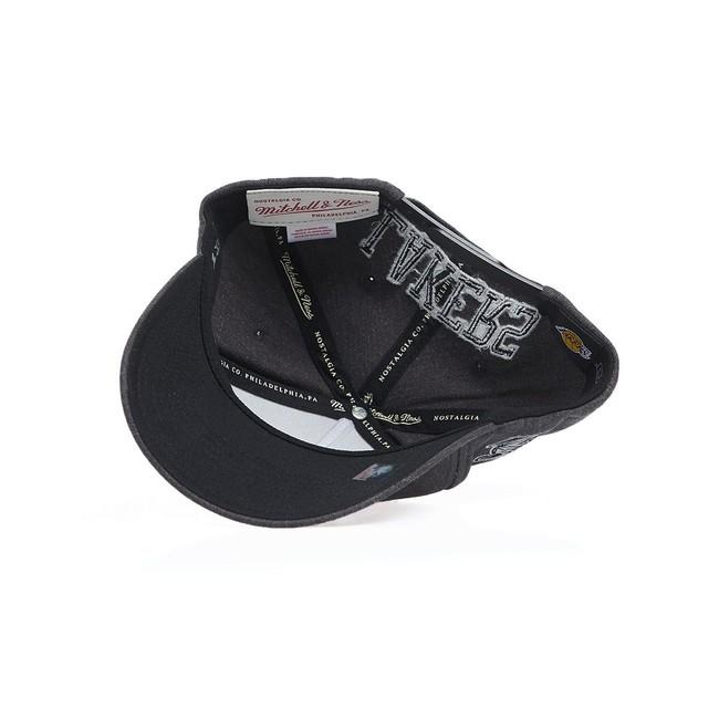 Mitchell & Ness snapback Los Angeles Lakers charcoal Charcoal Eazy Snapback