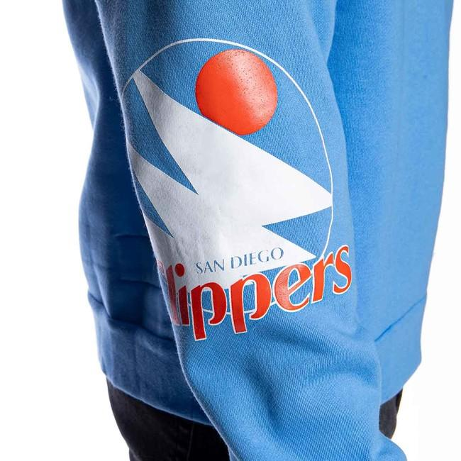 Mitchell & Ness sweatshirt San Diego Clippers light blue Instant Replay Hoody