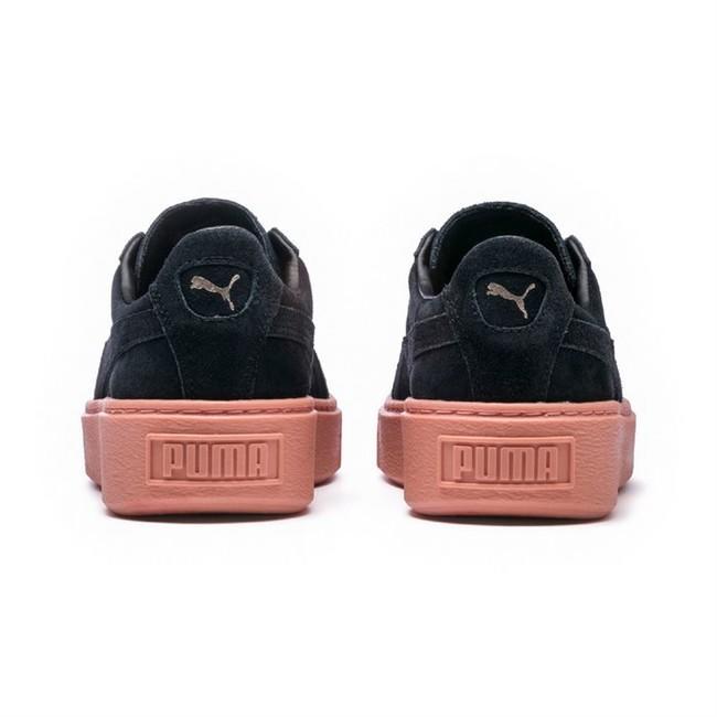 ef0a2f11e4ab Dámské Tenisky Puma Platform Sunfstitc WN Black Pink - Gangstagroup ...