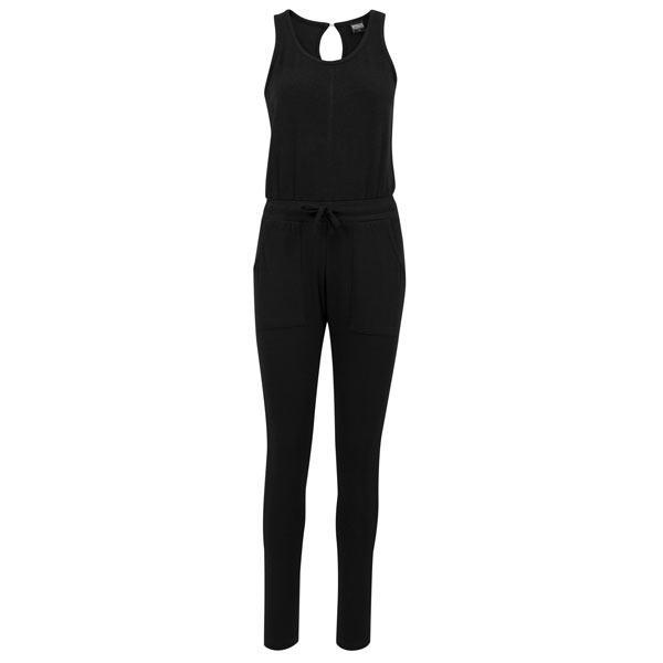 Urban Classics Ladies Melange Jumpsuit black/black