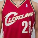 Mitchell & Ness Cleveland Cavaliers #23 Lebron James red Swingman Jersey