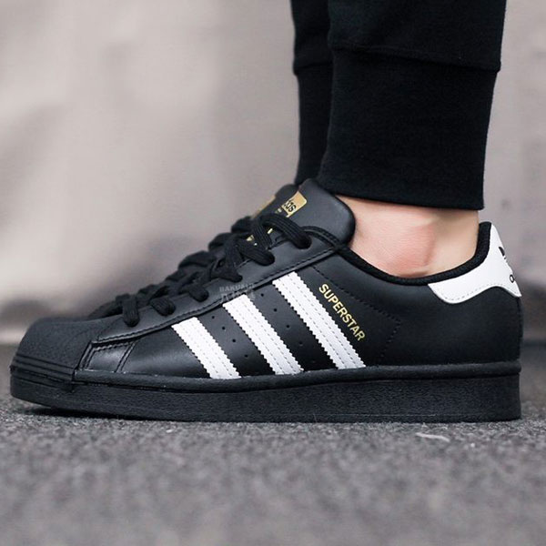Tenisky Adidas Superstar Black - 44 - 10 - 9.5 - 27.1 cm