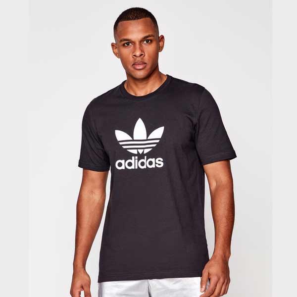Pánské Tričko Adidas Trefoil Tee Black - XL