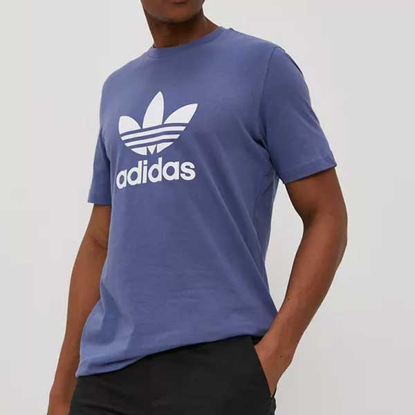 Pánské Tričko Adidas Trefoil Tee Blue - XL