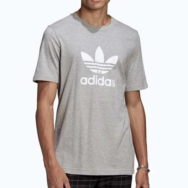 Pánské Tričko Adidas Trefoil Tee Grey - XL