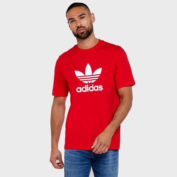 Pánské Tričko Adidas Trefoil Tee Scarlett - XL