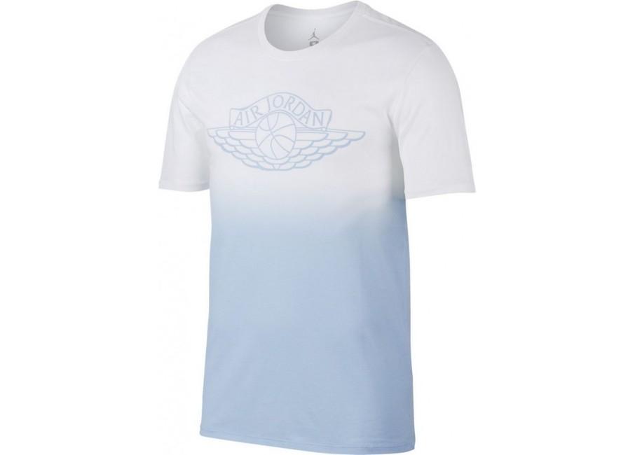 Pánske tričko Air Jordan Fadeaway Faded White Blue 843138-100 b1ce4addec