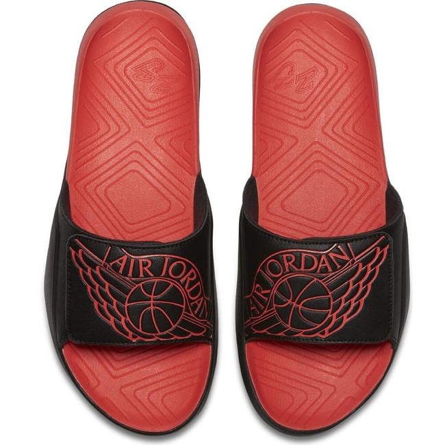 Šlapky Air Jordan Hydro 7 Black Infra Red 23 - 42.5 - 9 - 8 - 27 cm