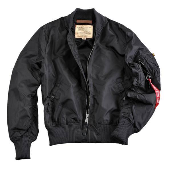 Pánska bunda Alpha Industries MA-1 TT Jacket Black
