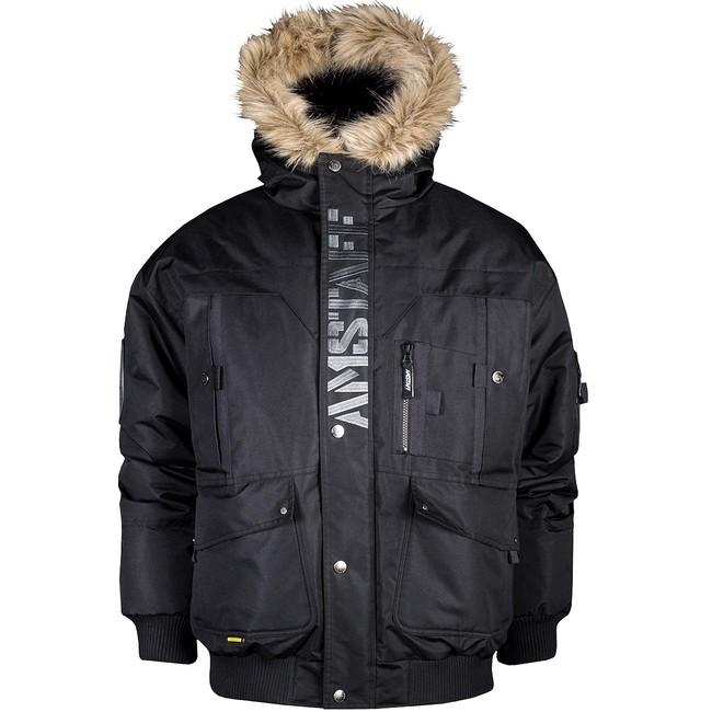 Zimná Bunda Amstaff Aton Winterjacket - M
