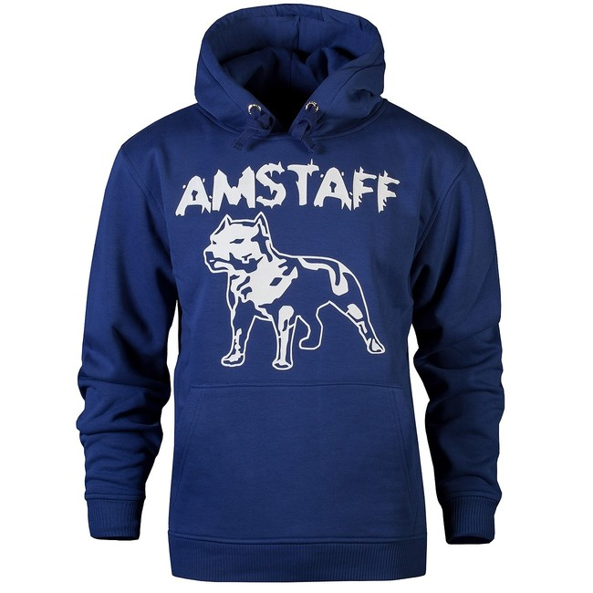 Amstaff Logo Hoody - navy - S
